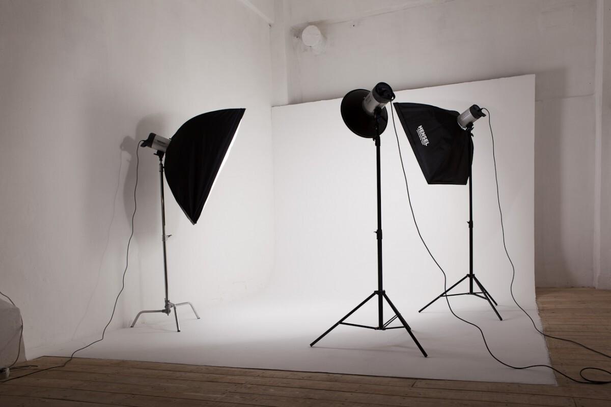 как сделать свет для фотосессии дома более
